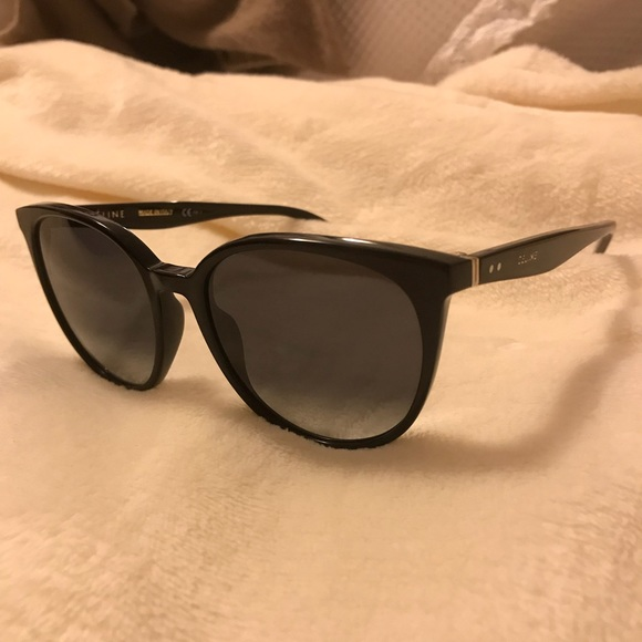 a21f669d5abd Celine Accessories - Celine black cat eye thin Mary sunglasses 41068 s